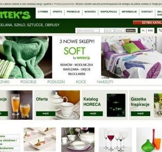 Household wares and decoration online store in Poland