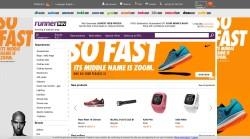 Sportowy sklep online z odzieżą i obuwiem do biegania
