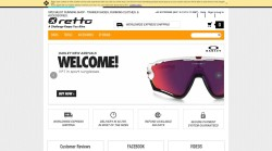 Cycling clothes can be obtained at Retto online store.