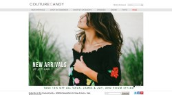 One of the best international online fashion stores - CoutureCandy