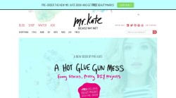 Jewelry online shopping at Mr Kate.