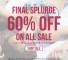 Modekungen 60% discount promotion