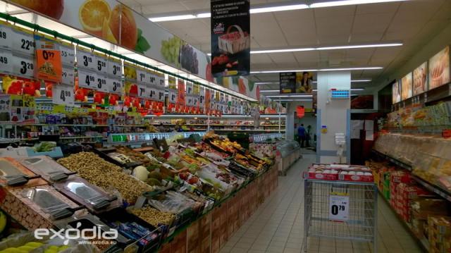 Die Biedronka Supermärkte findet man in Polen in jeder Stadt