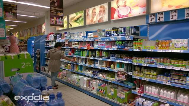 Der Biedronka also Marienkäfer Supermarkt ist mehr als ein polnisches Lebensmittelgeschäft - dort findet man auch Kosmetik, Waschmittel, Elektronik, Bekleidung und mehr.