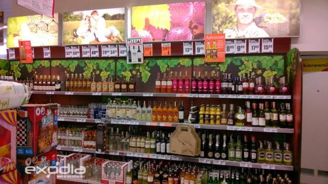 polnischer Supermarkt Biedronka
