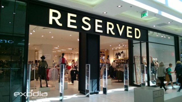 Reserved is a Polish fashion store brand