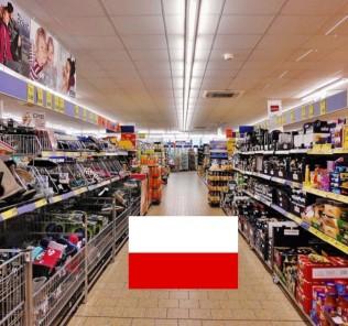 Die besten Lebensmittelgeschäfte und Supermärkte in Polen