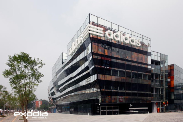 Adidas is a famous sportswear brand