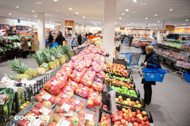 The Albert Heijn groceries are very popular in the Netherlands.
