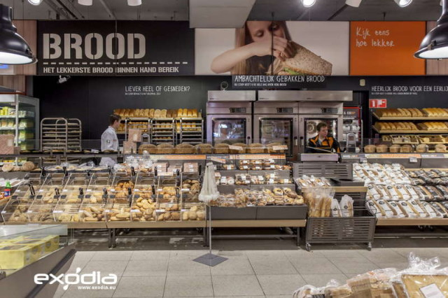 The Dutch grocery store chain Coop is well-known in the Netherlands.