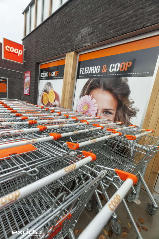 Coop is a supermarkt in the Netherlands.