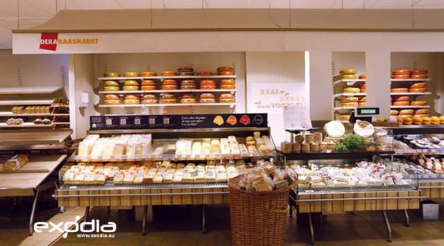 Deka Markt supermarkets belong to the same cooperation like Dirk van den Broen.