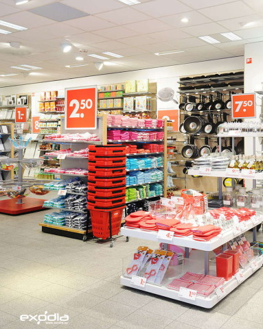 The Dutch Hema store chain is present in different European countries.