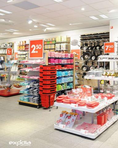 Die niederländischen Hema-Supermärkte sind weniger Lebensmittelgeschäfte, sondern eher Non-Food-Anbieter.
