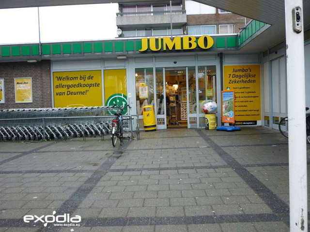 Jumbo is a very popular supermarket in the Netherlands.