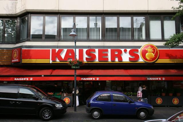 Supermarket Kaiser's w Niemczech
