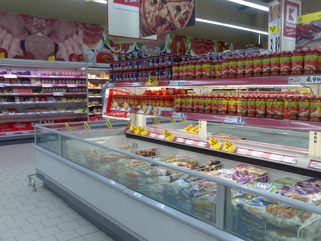German Kaufland grocery store in Poland