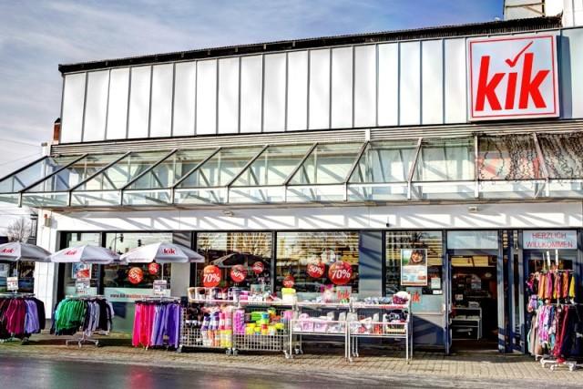 W Niemczech sieć sklepów odzieżowych KiK jest rozpowszechniona