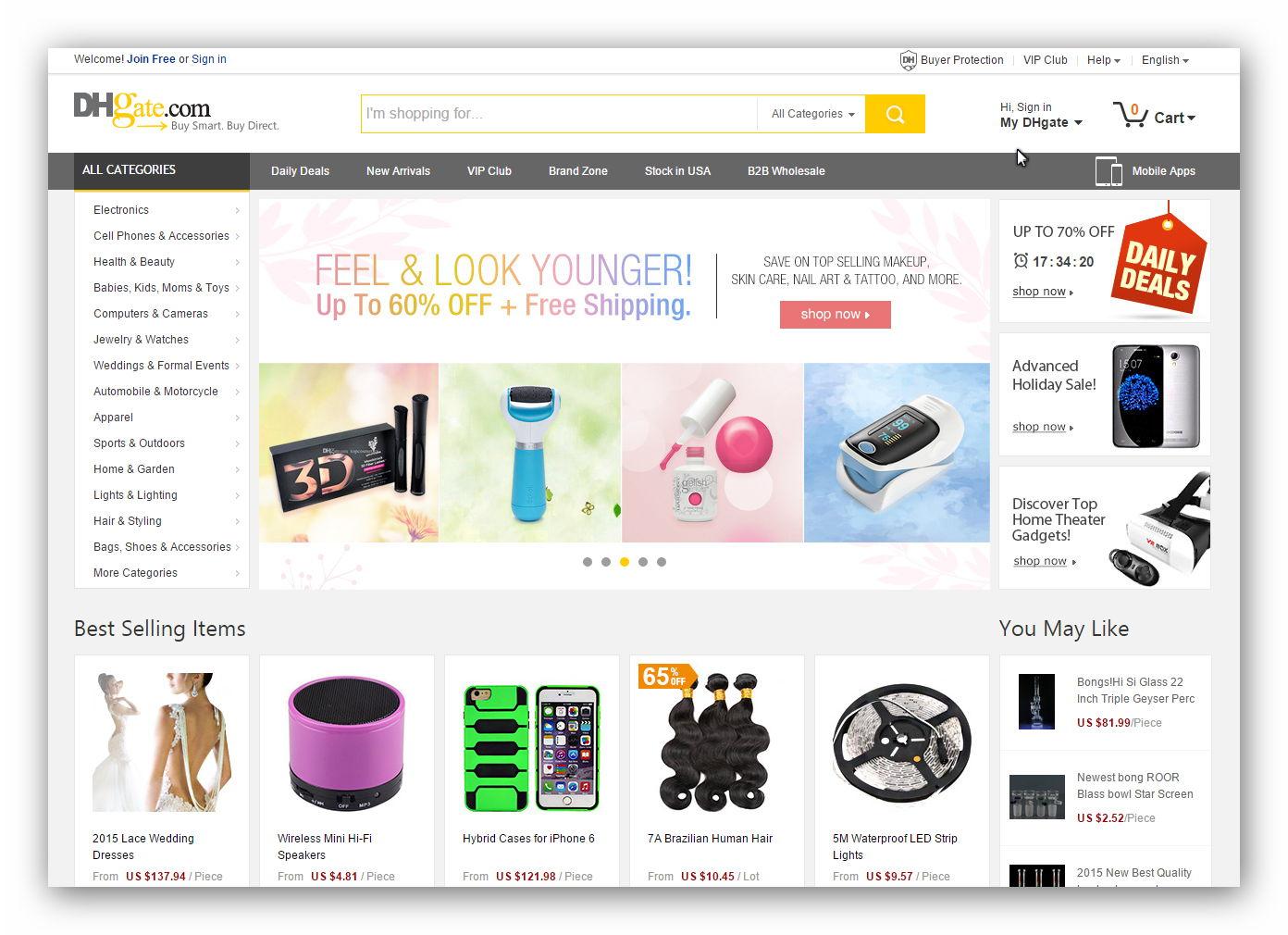 Znasz chińskie Allegro? Dwa sklepy internetowe godne uwagi