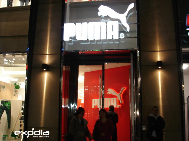 Sklep odzieżowy Puma w Niemczech