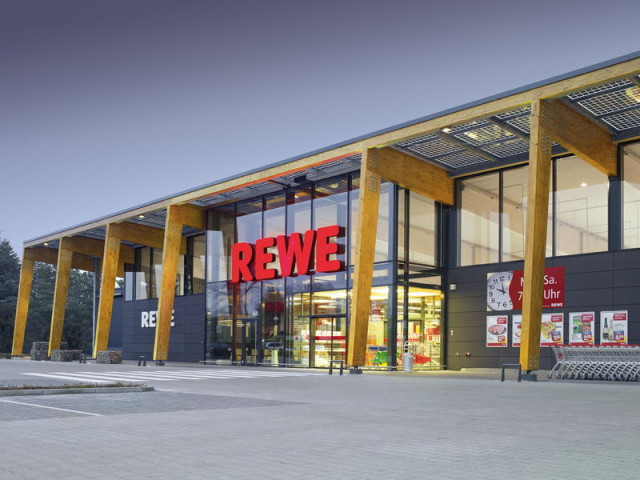 Rewe Supermarket in Europe