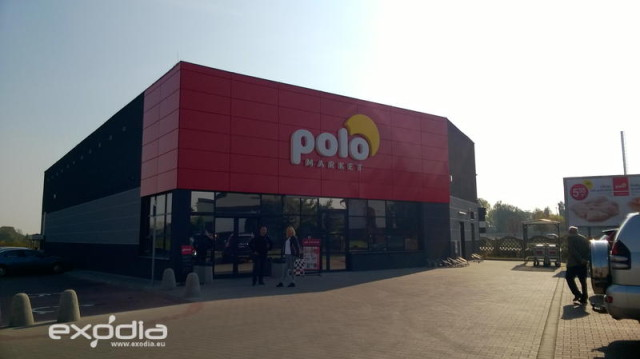 PoloMarket is a Polish grocery store chain
