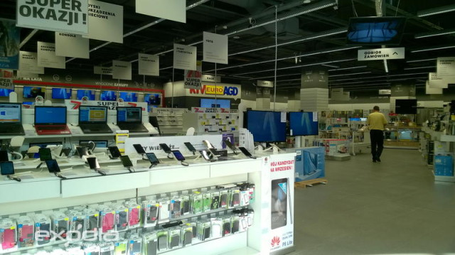 Euro RTV AGD is a Polish electronics store chain