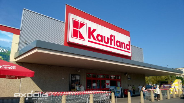 Kaufland is a German supermarket chain