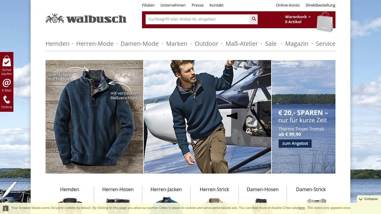 Walbusch niemiecki sklep odzieżowy online