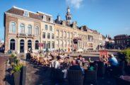Einkaufen in Roermond, Holland.