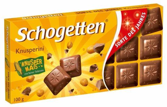 Niemieckie czekolady Schogetten