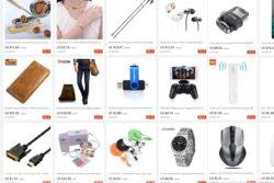 Produkte, die man bei AliExpress einkaufen kann.