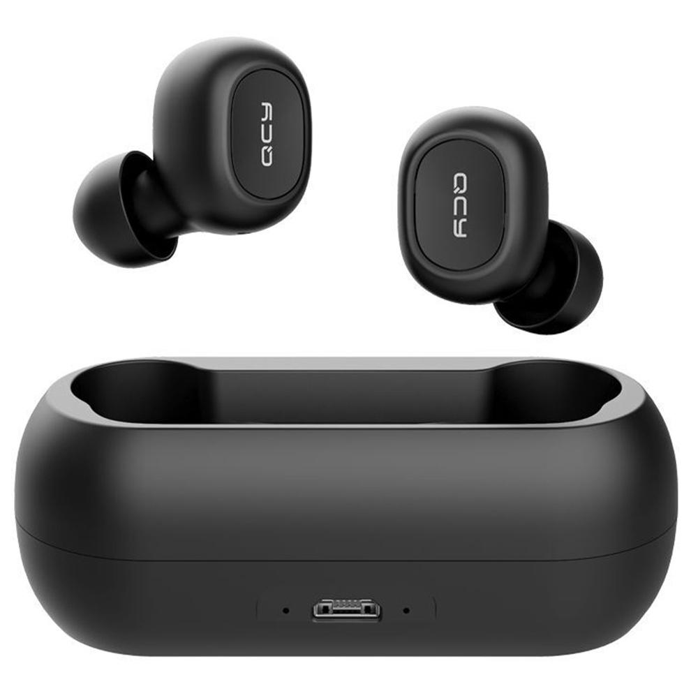 QCY T1C TWS Dual Bluetooth 5.0 Earphones Black