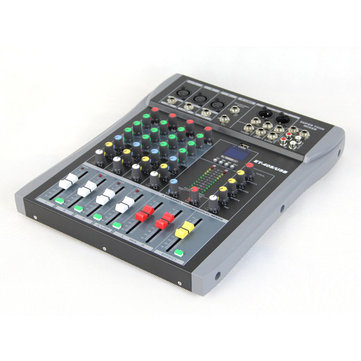 Executant ET-40S 4 Channel Professional Stage Live Audio Sound Mixer USB Mixing Console KTV Wedding