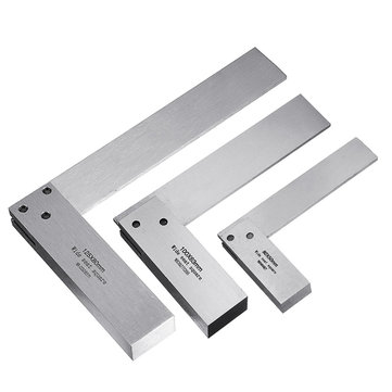 Machinist Square 90º Right Angle Engineer Set Precision Ground Steel Hardened Angle Ruler