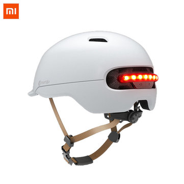 40,97€ 40% XIAOMI Smart4U Upgraded SH50 Bike Bicycle Smart Helmet Light Sensing Braking Warning LED Breathable Cycling Helmet Bike & Bicycle from Sports & Outdoor on banggood.com