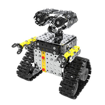 US$16.99 11% Mofun DIY Stainless Steel RC Robot Sliding Block Building Assembled Robot Toy RC Robot from Toys Hobbies and Robot on banggood.com