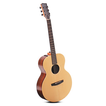 US$219.99 20% Enya EA-X2/EQ 41 Inch AJ Guitar Engelman Spruce Wood Acoustic Folk Guitar Musical Instruments from Toys Hobbies and Robot on banggood.com