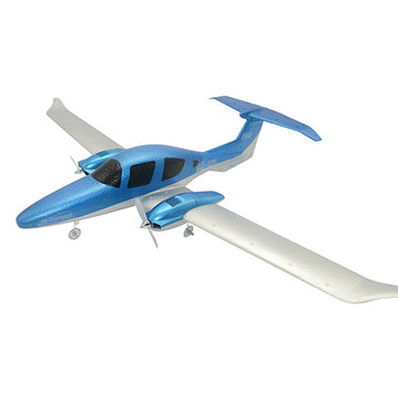 US$24.59 59% GD-006 DIY EPP 548mm Wingspan DIY RC Airplane RTF Built-in Battery RC Drones from Toys Hobbies and Robot on banggood.com