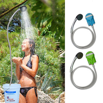 US$25.99 60% IPRee® Portable USB Shower Water Pump Rechargeable Nozzle Handheld Camp Travel Outdoor Kit Travel Supplies from Sports & Outdoor on banggood.com