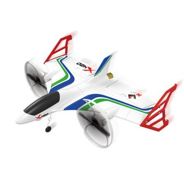 US$63.99 6% XK X420 2.4G 6CH 420mm 3D6G VTOL Vertical Take-off And Landing EPP 3D Aerobatic FPV RC Airplane RTF RC Drones from Toys Hobbies and Robot on banggood.com
