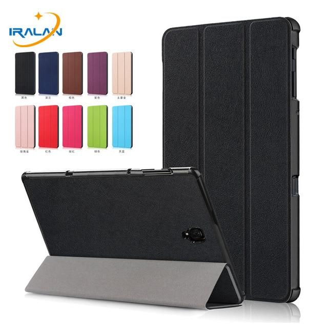 2019 nowy Ultra Slim magnes inteligentne etui dla Samsung Galaxy Tab 10.5 T590 T595 T597 SM-T590 SM-T595 stojak na Tablet pokrywa + film + długopis