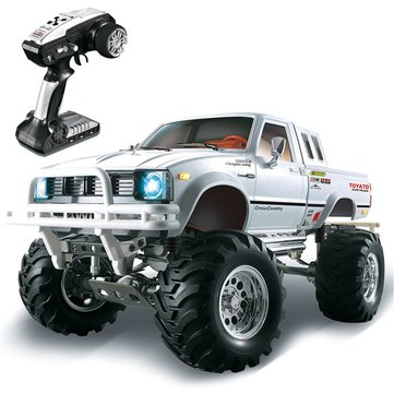 US$198.9944%HG P407 1/10 2.4G 4WD Rally Rc Car for TOYATO Metal 4X4 Pickup Truck Rock Crawler RTR ToyRC VehiclesfromToys Hobbies and Roboton banggood.com