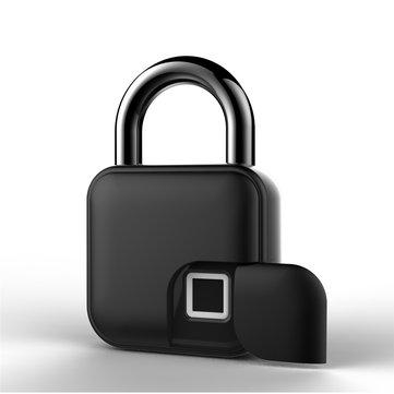Anytek L3 Smart Fingerprint Lock Keys Padlock Door Motorcycle Anti-theft Lock Bike Bicycle LockBike & BicyclefromSports & Outdooron banggood.com