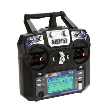 FlySky FS-i6 i6 2.4G 6CH AFHDS RC Radio Transmitter Without Receiver for FPV RC DroneRC PartsfromToys Hobbies and Roboton banggood.com