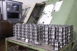 Dombovari - a German metal processing factory.