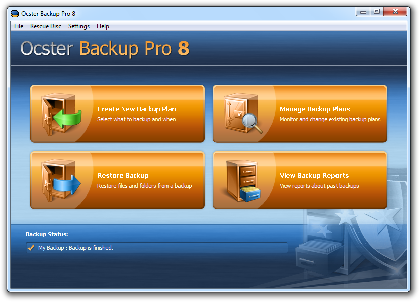Ocster Backup Software made in Germany