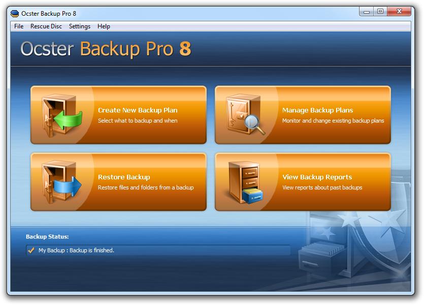 Ocster Backup Pro 8 kaufen – 20% Rabatt