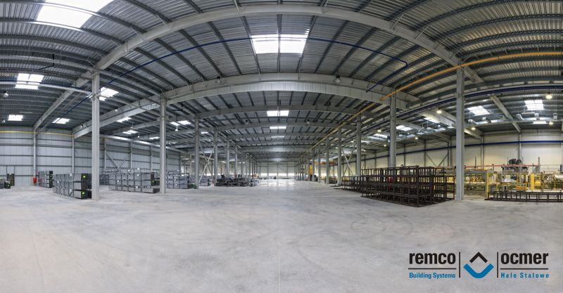 Light steel halls construction company – OCMER, Poland (REMCO)