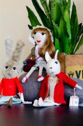 Szmacianki ist ein polnischer Stoff-Puppen-Hersteller.